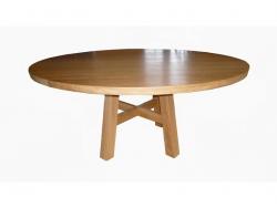 Dubový stůl kulatý