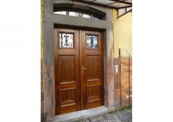 Renovace dveří z masivu