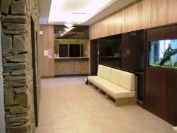 Interiér hotelu z masivu