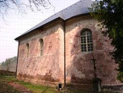 Renovace původních stavebních prvků Lutherského kostela v Libštátě