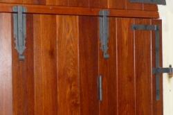Renovace dveří kaple v Lomnici nad Popelkou